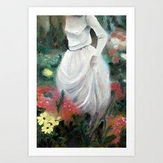 Girl #2 Art Print