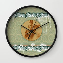 cat in the MiDDLE Wall Clock
