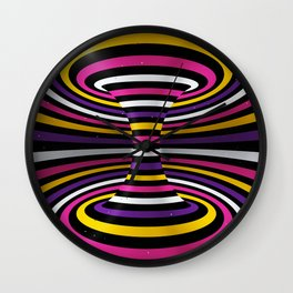 Connected channel (multicolor) Wall Clock