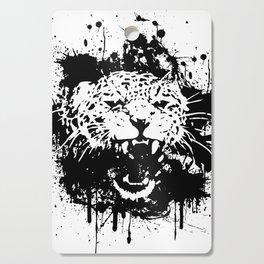 Roaring leopard Cutting Board