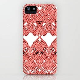 Red Lace Royshay  iPhone Case