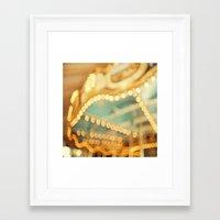 carnival Framed Art Prints featuring carnival by Carl Christensen