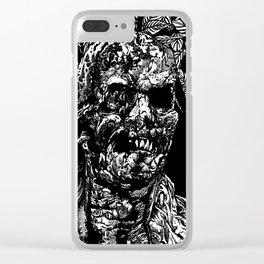 Zombi Clear iPhone Case