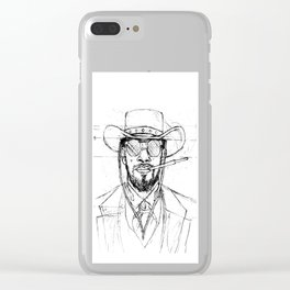 Django Unchained Clear iPhone Case