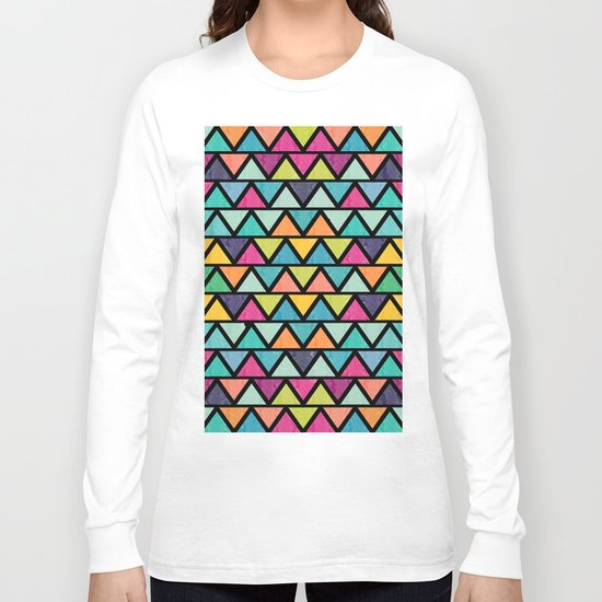 Lovely geometric Pattern IV Long Sleeve T-shirt