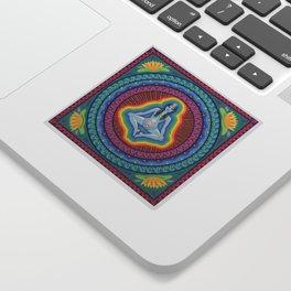 Chakras Mandala Sticker