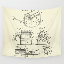 Coffee Roaster-1923 Wall Tapestry