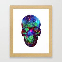Star Skull  Framed Art Print