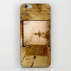 Ephemera 1 iPhone & iPod Skin