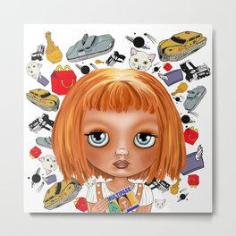 The Fifth Element : MULTIPASS Metal Print