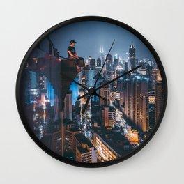 Nightscape Wall Clock