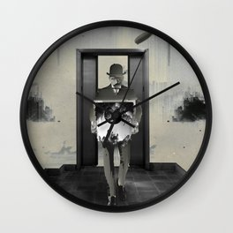 The Hollow Room Wall Clock