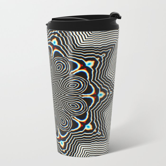Full Om Mandala Metal Travel Mug
