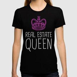 Real Estate Queen | Cute Realtor Design T-shirt