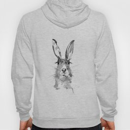 BLACK N WHITE HARE Hoody