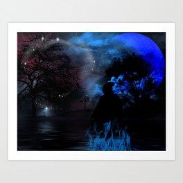 """""""Reaper"""" by Marie Plourde Art Print"""