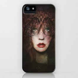The fragile Queen iPhone Case