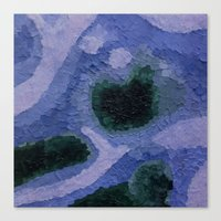 geode Canvas Prints featuring Geode by GabriielleViictoriia