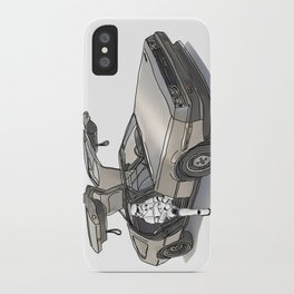 Stormtroooper in a DeLorean - star wars iPhone Case