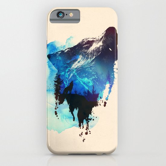 Alone as a wolf iPhone & iPod Case
