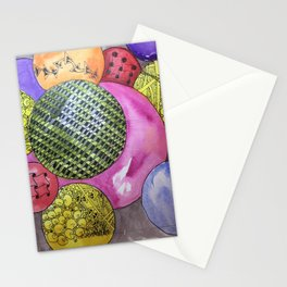 Zentangle Bubbles Stationery Cards