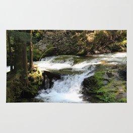 babbling brook Rug
