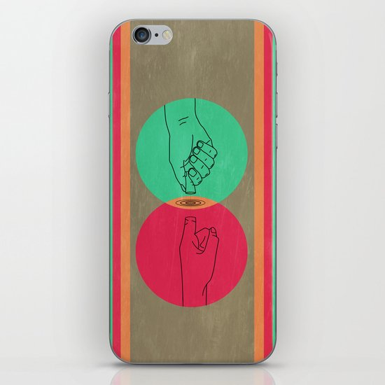 Pull your finger out  iPhone & iPod Skin