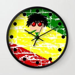 Reggae Kazoo Wall Clock