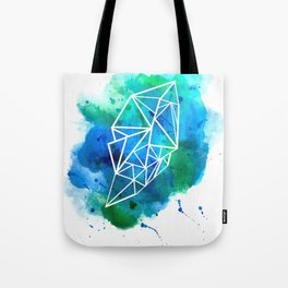 Blue Splat Tote Bag