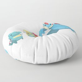 Watery Family #2 Floor Pillow