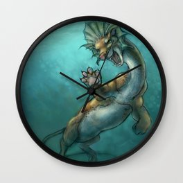 Oddity - Fantasy Sea Beast Wall Clock