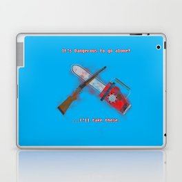 Evil Dead: It's Dangerous to go alone! Laptop & iPad Skin