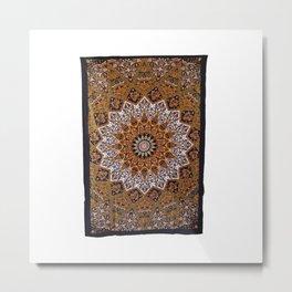 Star Tapestry Wall Hanging Metal Print