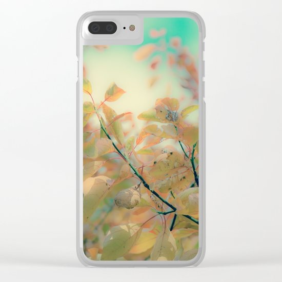 Nothing Lasts Forever Clear iPhone Case