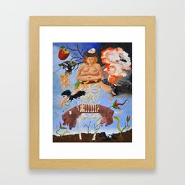 Bad Influence Framed Art Print