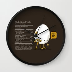 They Beat Me Wall Clock