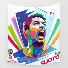 Luis Suarez Wold Cup 2018 Edition Wall Tapestry