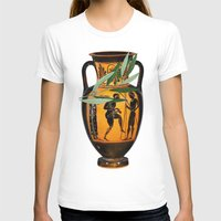 greek T-shirts featuring Ancient Greek by Fifikoussout