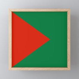 Flag of El Alto Framed Mini Art Print