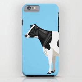 Holstein // Blue iPhone Case