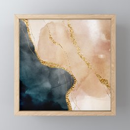 Stormy days II Framed Mini Art Print