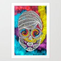 Suga Mama Art Print