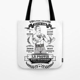 Vintage Boxing Tote Bag