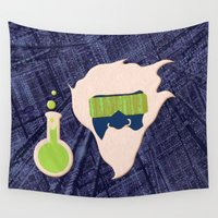 data Wall Tapestries featuring Data Scientist by Ryan Hill