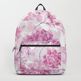PINK SUCCULENTS #society6 Backpack