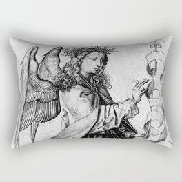 The Angel of the Annunciation Rectangular Pillow
