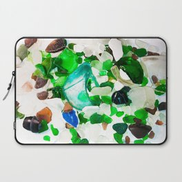 Beach Glass Laptop Sleeve