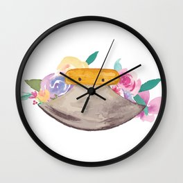 Ulu Floral Wall Clock