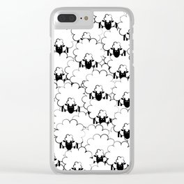 Count Sheep 1 Clear iPhone Case