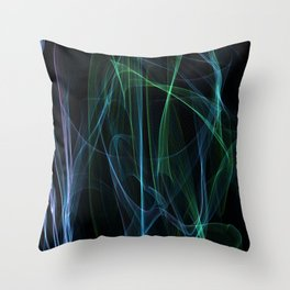 Summer lines 21 Throw Pillow